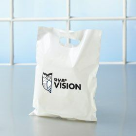 hilco vision custom thank you bags