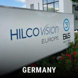 hilco vision germany entrance sign