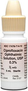Ciprofloxacin Ophthalmic Solution
