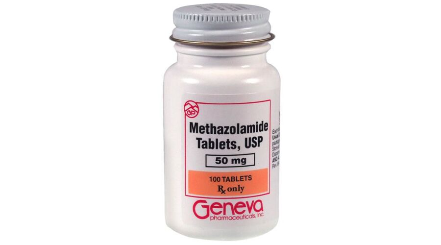 METHAZOLAMIDE 50 MG TABLETS 100 CT