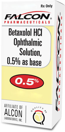 Betaxolol Ophthalmic Solution
