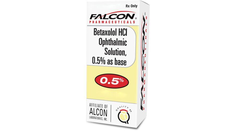 BETAXOLOL 0.5% OPH SOLN 5 ML NDC 61314-0245-01