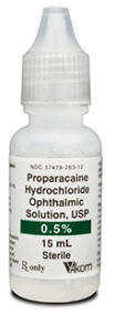 Proparacaine HCl 0.5% 15ml Ophthalmic Solution (AKORN)