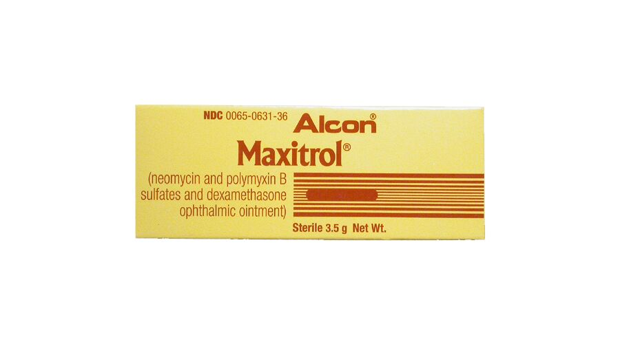 Maxitrol Oph Oint 3.5 Gm Ndc 00078-0771-01