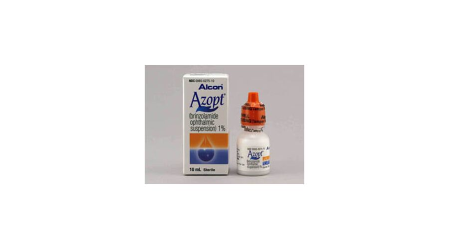AZOPT 1% OPH SUSPENSION 10 ML NDC 00065-0275-10
