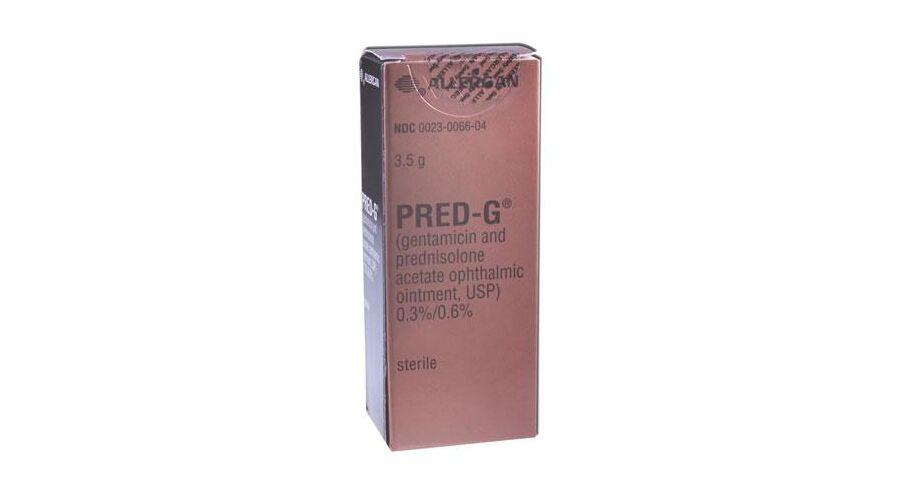 PRED-G OPH OINT 3.5 GM NDC 00023-0066-04