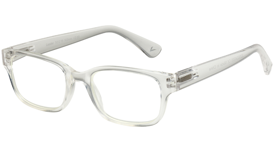 BLU-BAN GLASSES 4505 CRYSTAL +1.50