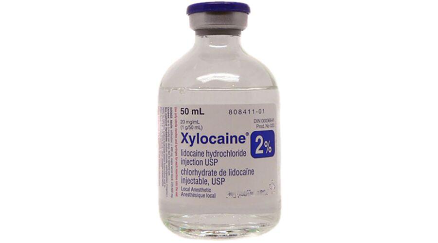 XYLOCAINE 2% MDV 25X20 ML NDC 63323-486-27 (1382134)