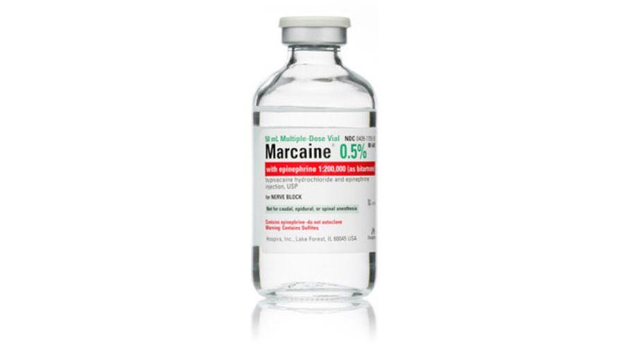 MARCAINE 0.5% MDV 50 ML NDC 00409-1610-50