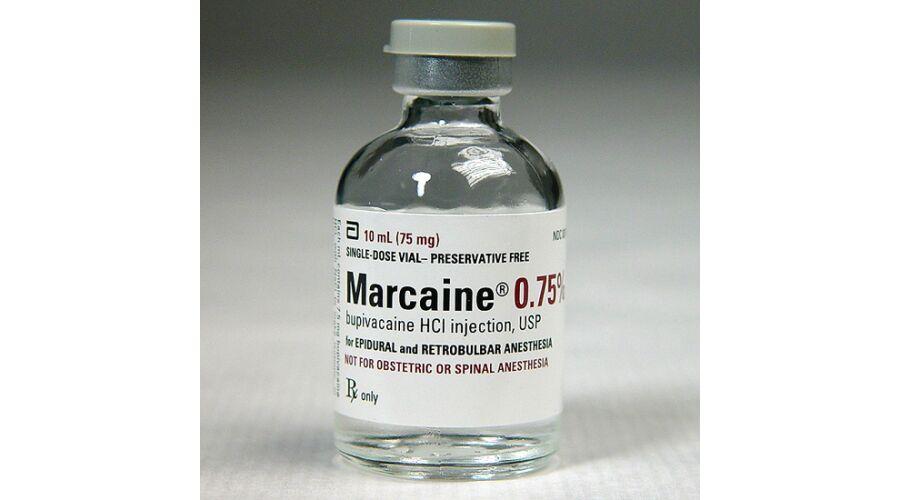 MARCAINE 0.75% SDV 10 X 30 ML NDC 00409-1582-29