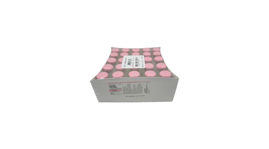 SODIUM CHLORIDE 0.9% SDV 25 X 10 ML NDC 63323-186-10 PF