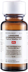 Lidocaine 4% Topical Solution, 50mL