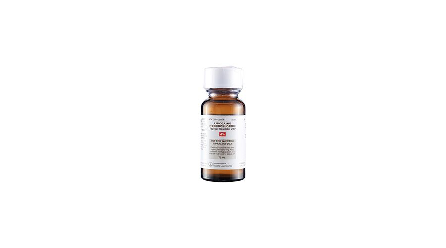 LIDOCAINE 4% TOPICAL SOLUTION 50ML NDC 00054-3505-47