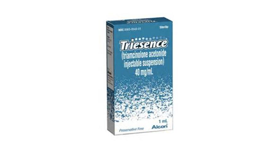 TRIESENCE INJECTION SUSPENSION 40MG/ML 1ML NDC 0065-0543-01