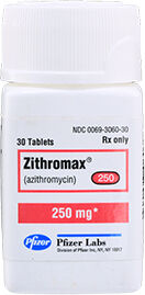 Zithromax (Azithromycin) Tabs