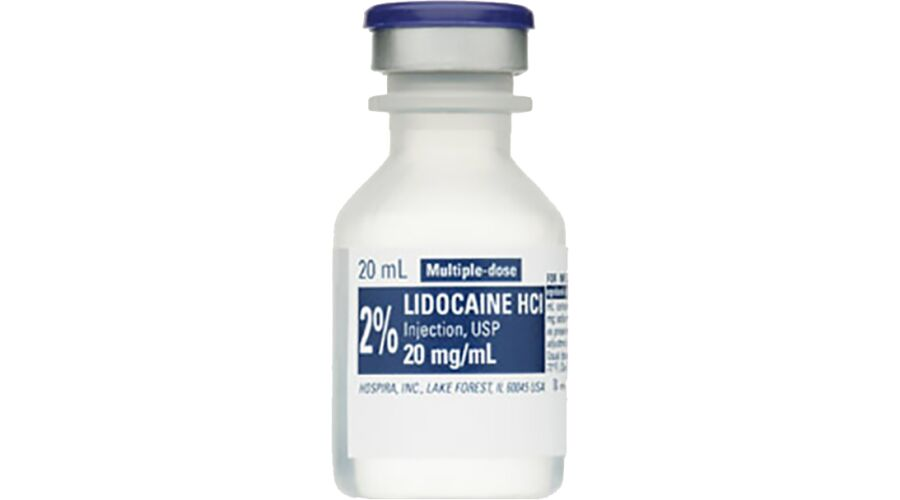 LIDOCAINE 2% 25X20ML MDV