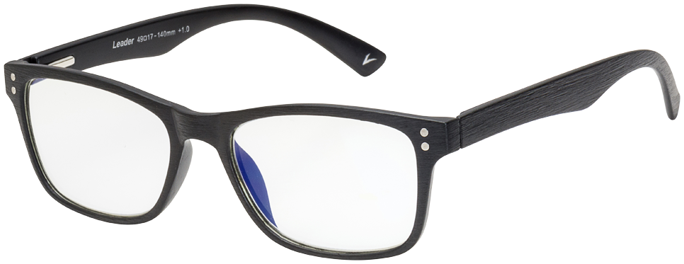 Blu-Ban Glasses 5505 Cecil Brush Black Plano