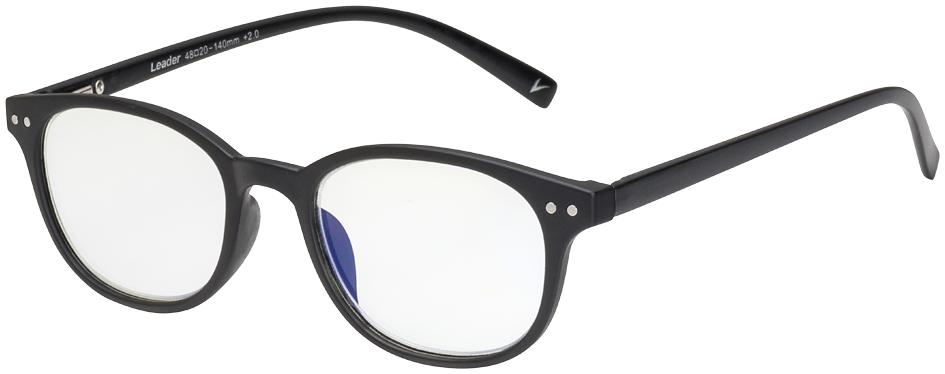 Blu-Ban Glasses 7505 Morrison Matte Black Plano