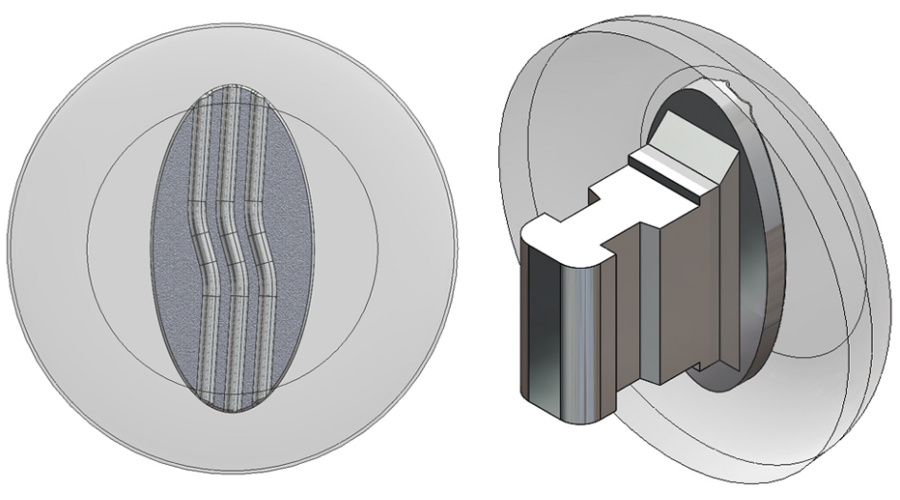 9mm, Round, Silver - 5 Pair