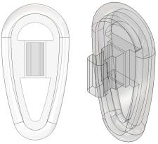 Push-On Vinylon Nose Pads