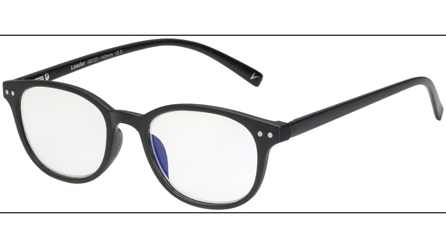 BLU-BAN GLASSES 7505 MATTE BLACK +2.00