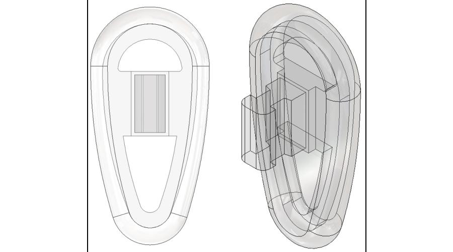 17mm, Symmetrical - 5 Pair