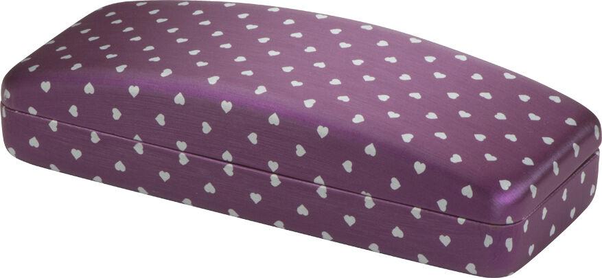 Purple Hearts Imprinted