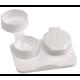Soft Lens Flat Packs, White, 1000/Case
