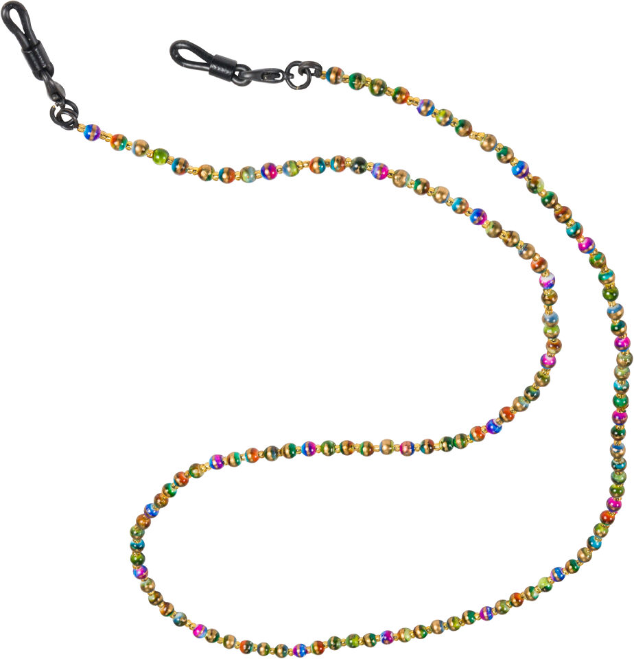 Vogue Fashion Holder/Necklace, Two-Tone Multi