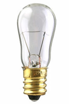 Worth 4-Dot Distance Test Bulb 6S6CANDCL 120V 6W Clear for Vision Technical VTS601/705/707