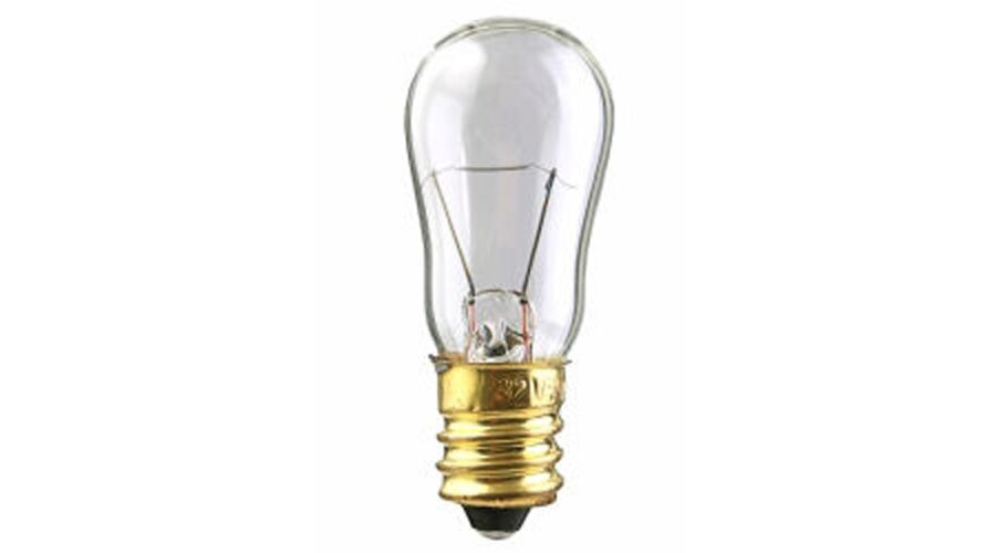 Worth 4-Dot Distance Test Bulb 6S6CANDCL 120V 6W Clear