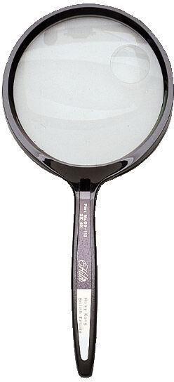 """Hand Held Magnifier 3"""" (75mm) - 2x/4x"""