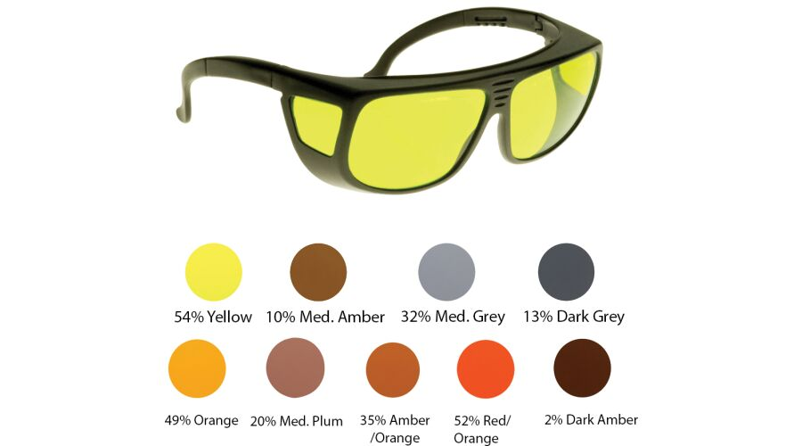 NOIR: OVER THE GLASSES 54% YELLOW