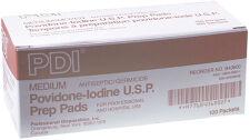 PDI® PVP Iodine Prep Pad