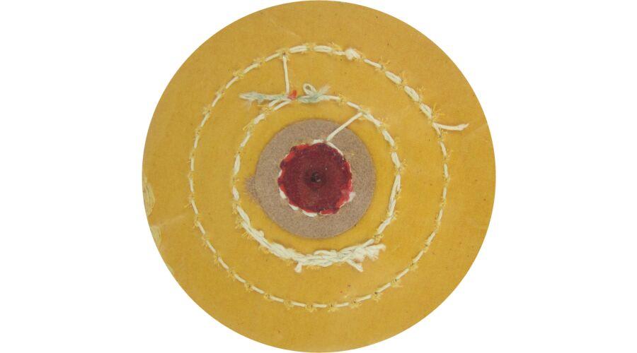 "Yellow Muslin Buff, 4"" (10cm)"