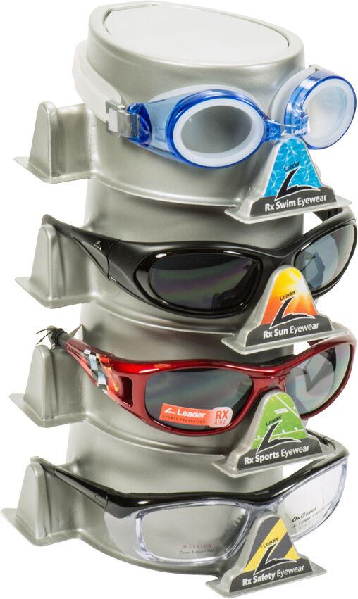 Modular 1 Tier Vision Protection Display