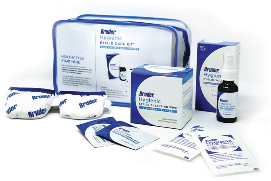 Bruder Hygienic Eyelid Care Kit Ea