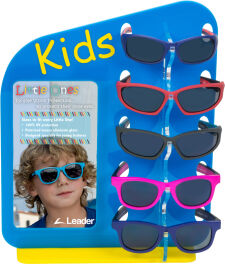 Kid's 5 Piece Sunglass Display - Empty