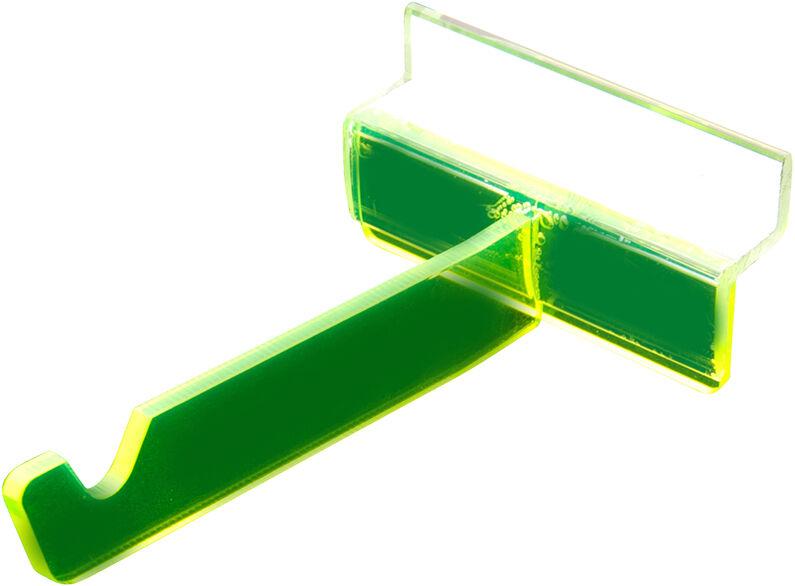 Frame Hooks, PK6, Green