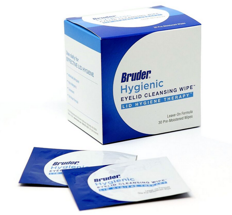 Bruder Hygienic Eyelid Cleansing Wipes Bx30