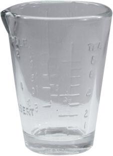 Medicine Glass with Lip