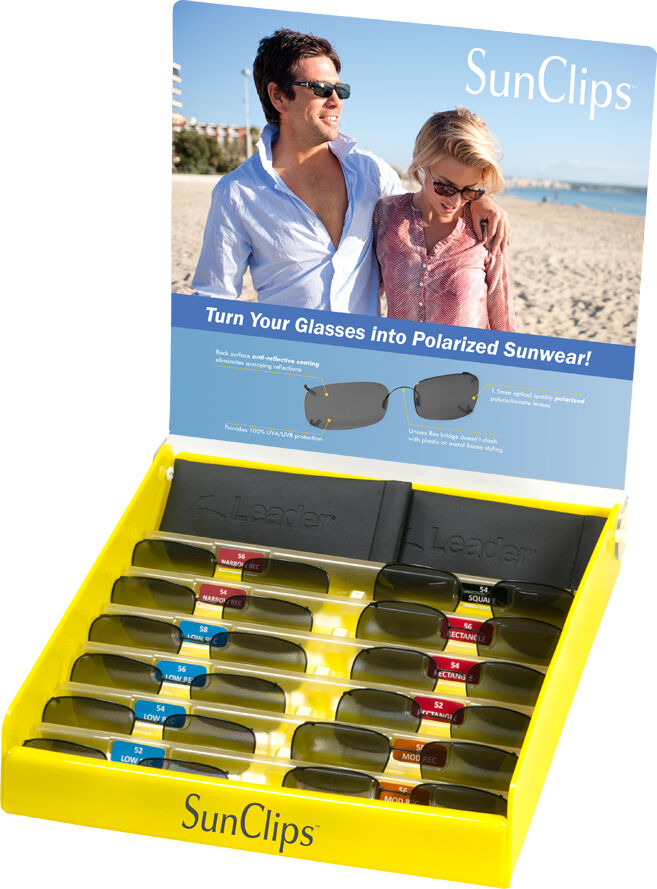 Rimless Sunclips Starter Kit w/ 12 Piece Pre-selected Assortment