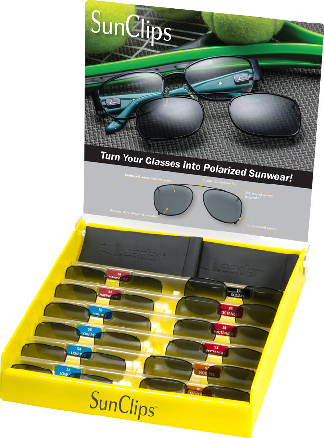 Rimmed Sunclips Starter Kit w/ 12 Piece Pre-selected Assortment