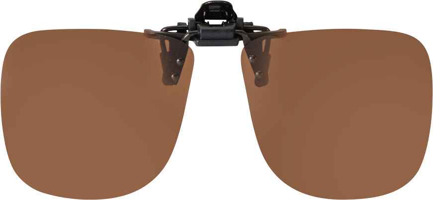 FLIP-UP SQUARE BROWN POLARIZED  60-12