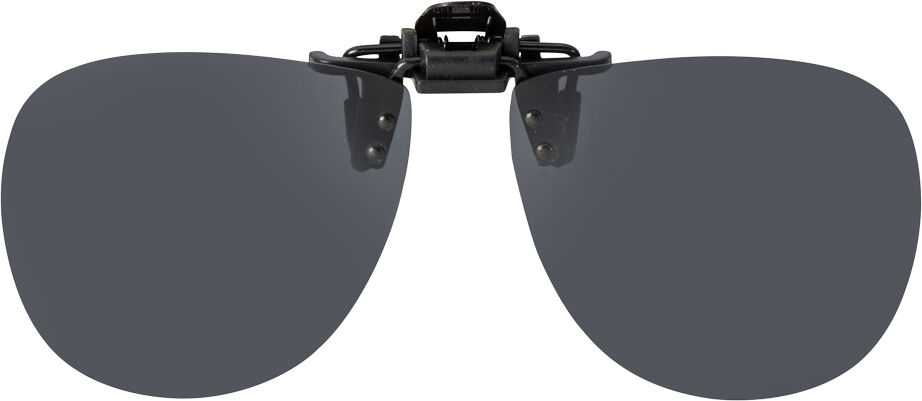 FLIP-UP AVIATOR GOGGLE GRAY POLARIZED 62-13