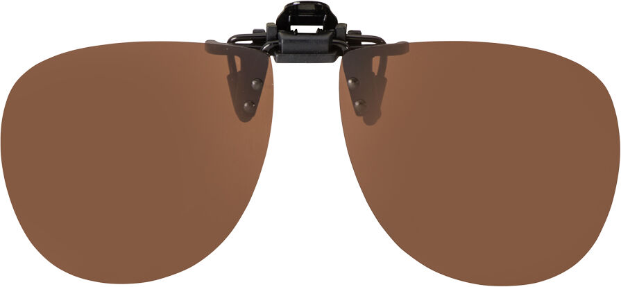 FLIP-UP AVIATOR GOGGLE BROWN POLARIZED 62-13