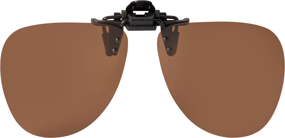 FLIP-UP ROUND BROWN POLARIZED 59-12
