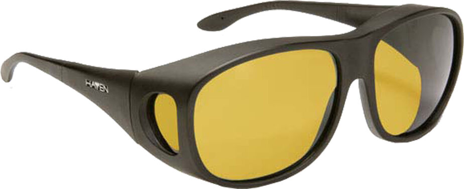 Summerwood - Black Frame, Yellow Lens