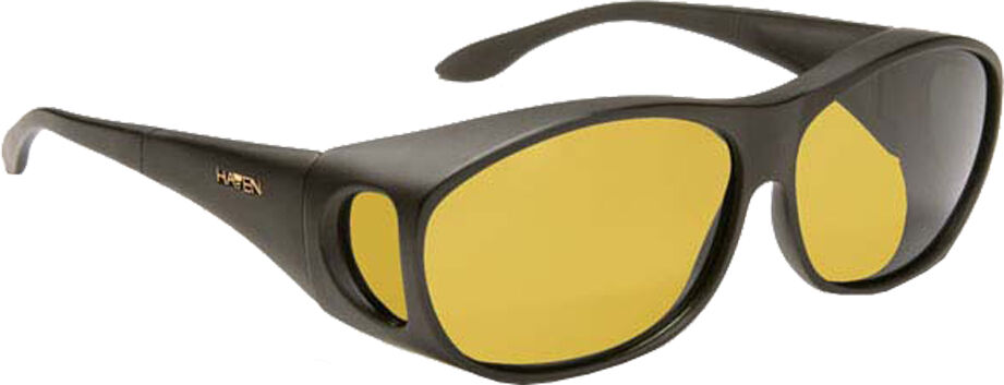 Meridian - Black Frame, Yellow Lens