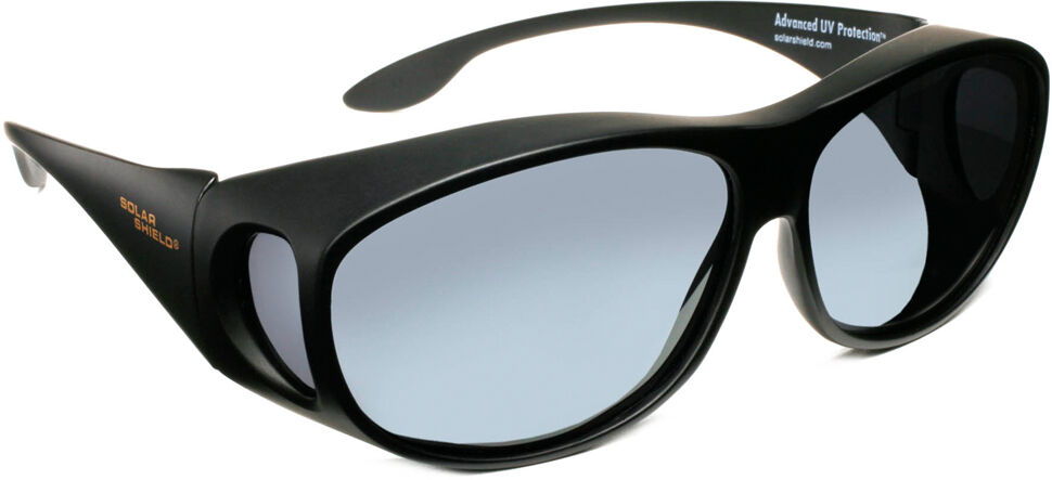 Mod Rectangle - Black Frame, Gray Lens